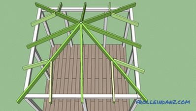 How to build a gazebo do it yourself from wood