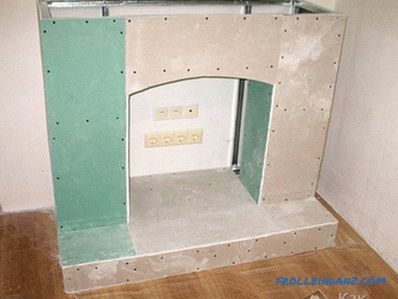 Fireplace drywall do it yourself