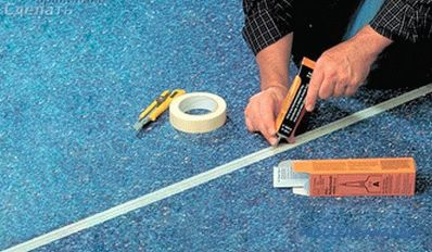 How to dock linoleum - the technology of hot and cold welding of linoleum