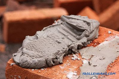 How to make a cement mortar