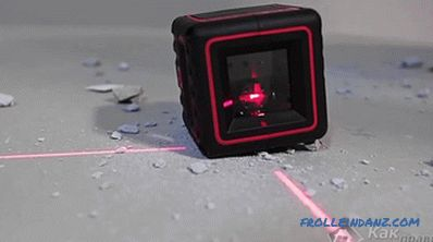 How to use a laser level - types of laser levels
