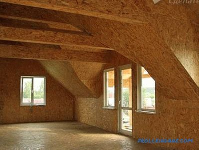 How to make a home from OSB do it yourself