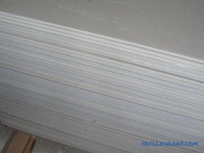 Types and sizes of drywall - make the right selection