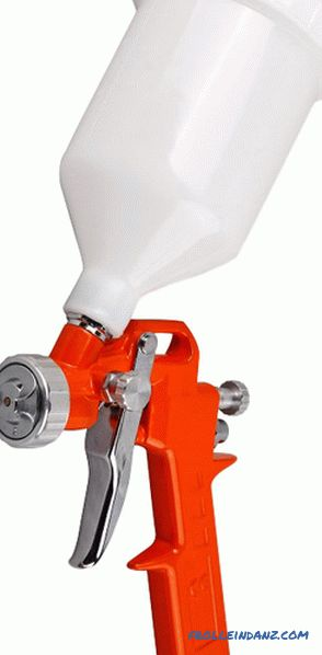 How to choose a spray gun for home and work - practical advice