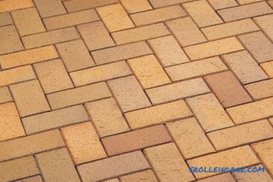 How to lay clinker tiles on a wall, steps, basement
