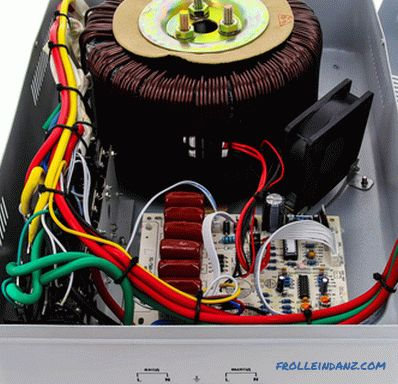 How to choose a voltage regulator for a private house or apartment